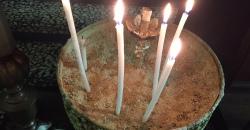 Свещи-църква3